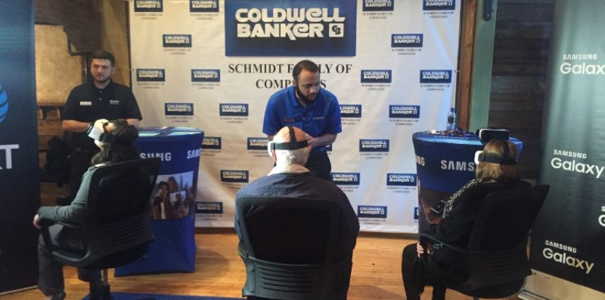 Coldwell Banker Real Estate Agents Used Virtual Reality to Change How Brokers Tour Homes (PRNewsFoto/Coldwell Banker Real Estate LLC)